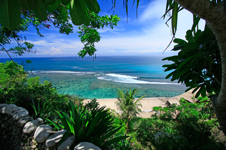 бунгало с видом на океан фото